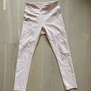 Outdoor Voices Leggings + Top. Size S! Pink